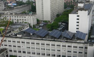 rooftop solar in city