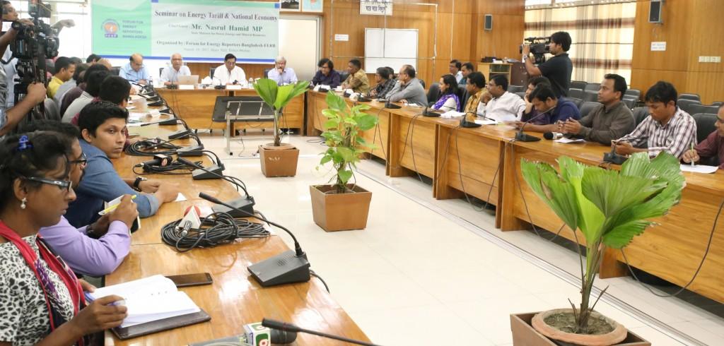 Ferb seminar on energy pricing- energy bangla
