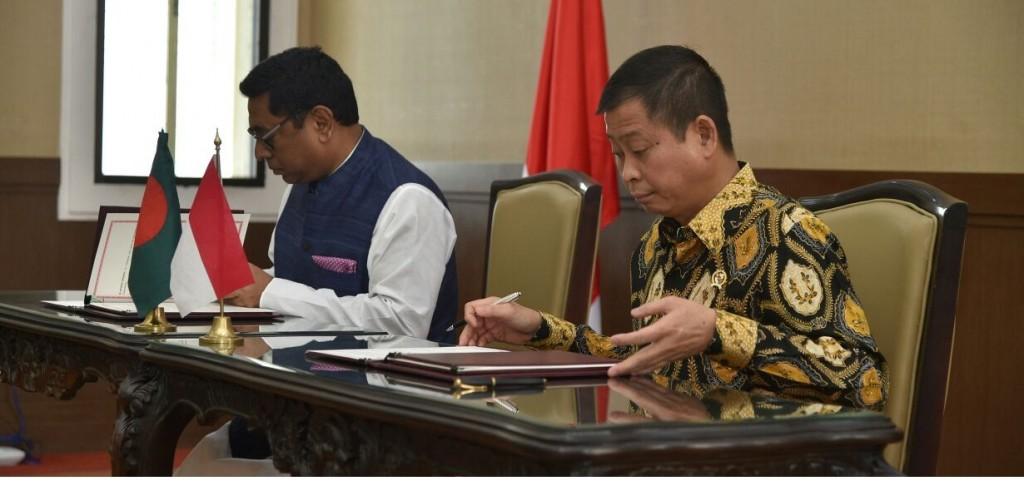 Bangladesh indonesia MOW