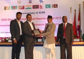IDCOL Achieved SAFA & SAARC Awards  - energy bangla
